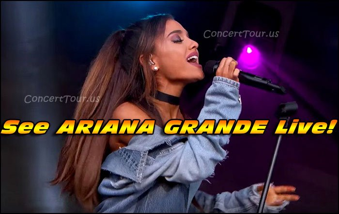 Sexy Ariana Grande Performs Live In Concert On Stage!