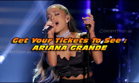 Don't miss your chance to see Ariana Grande live on tour in 2017.