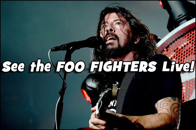Don't miss your chance to see the FOO FIGHTERS live in 2017!