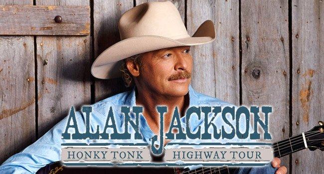 Don't miss ALAN JACKSON on his 2017 Honky Tonk Highway Tour!