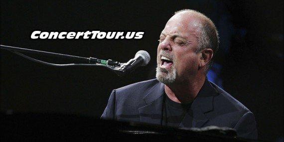 Billy Joel Performing Live in Concert