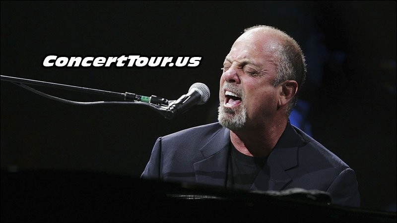 Billy Joel Performing Live in Concert