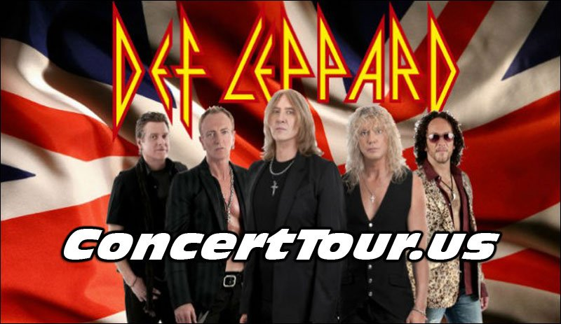 Def Leppard : Joe Elliot and Crew