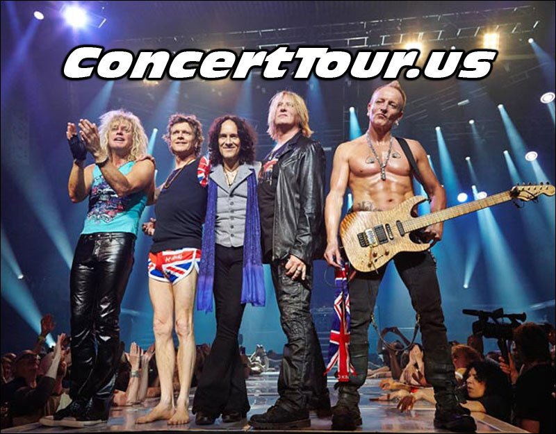 Def Leppard Live on Tour