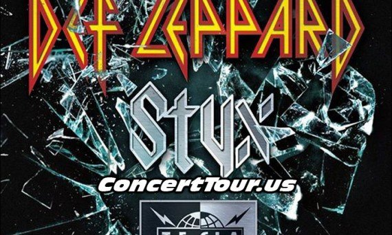 Def Leppard Plans Summer 2015 Tour with Styx and Tesla!