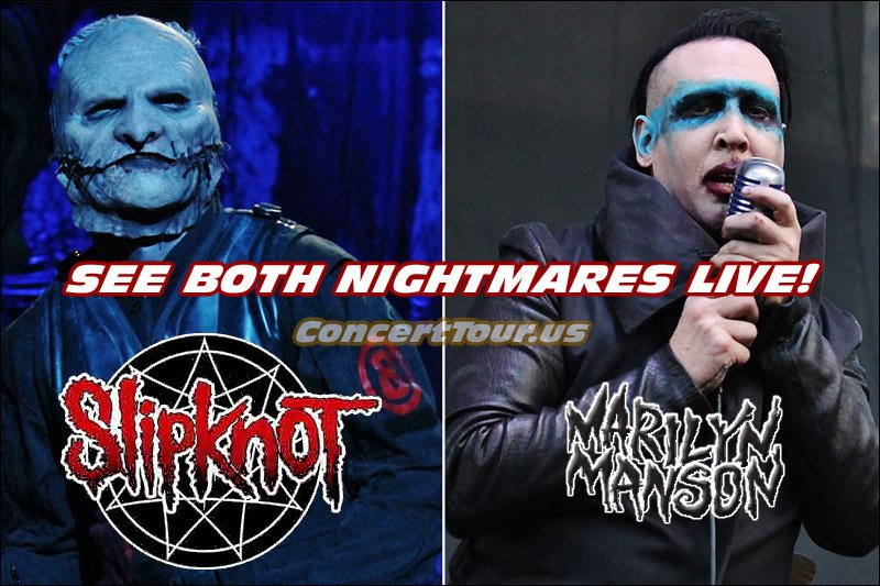 Slipknot will be on Tour this year with Marilyn Manson and Of Mice & Men.