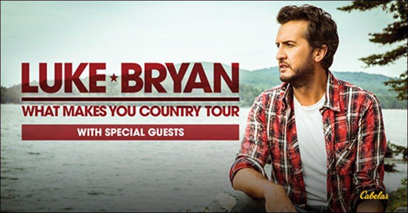 Luke Bryan Tour Schedule