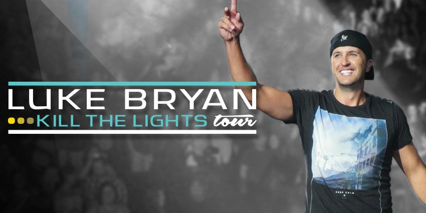 Country mega-super-star LUKE BRYAN extends his Kill The Lights Tour into 2017. Get your tickets now!