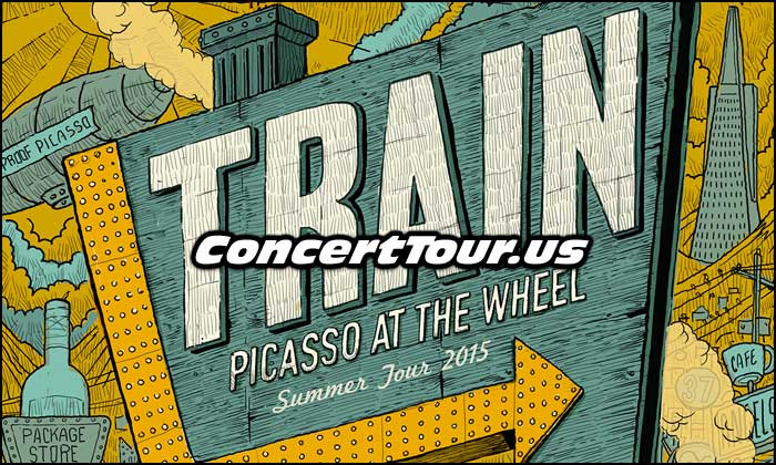 TRAIN treks on their Picasso At The Wheel Tour!