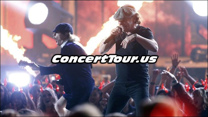 AC/DC Performing At The 2015 Grammy Awards Show!