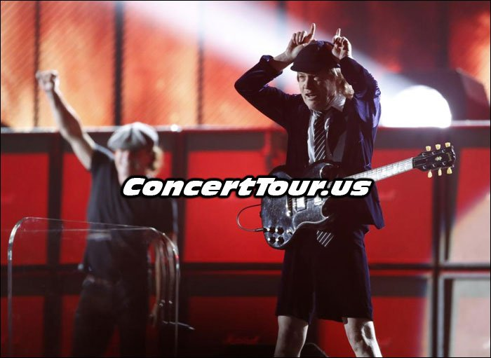 AC/DC Performing at The 2015 Grammys!
