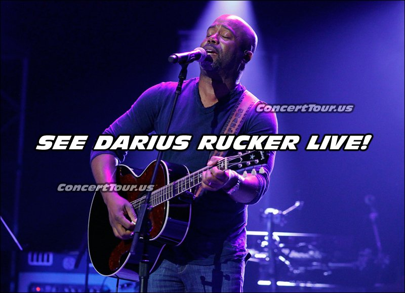 Don't miss your chance to see Darius Rucker live in concert in 2016.