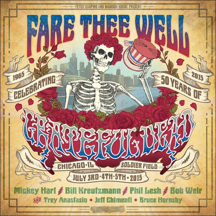 Grateful Dead Plans 2015 Fare Thee Well Tour