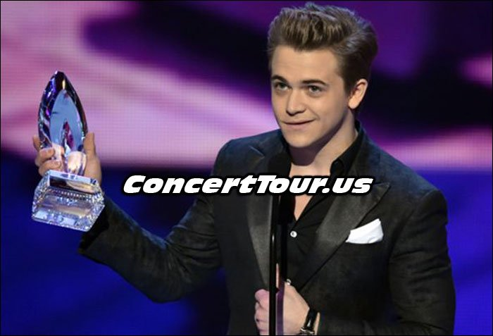 Hunter Hayes at the 2015 People's Choice Awards