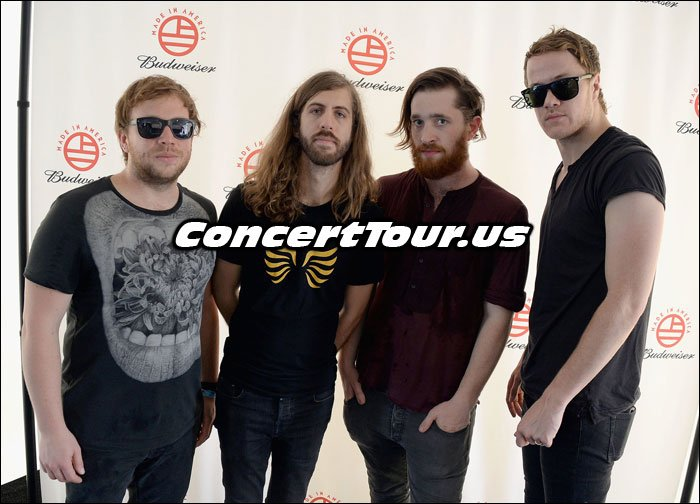 Imagine Dragons Pose For The Camera!