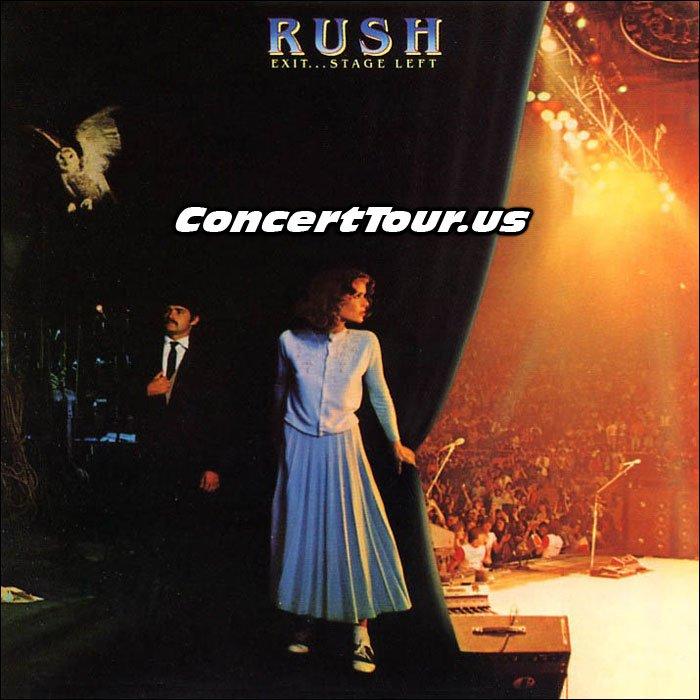 RUSH Exit Stage Left Album Cover
