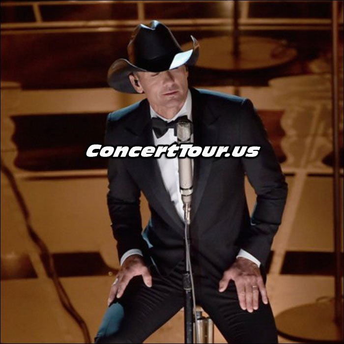 Tim McGraw Sings at the 2015 Oscars