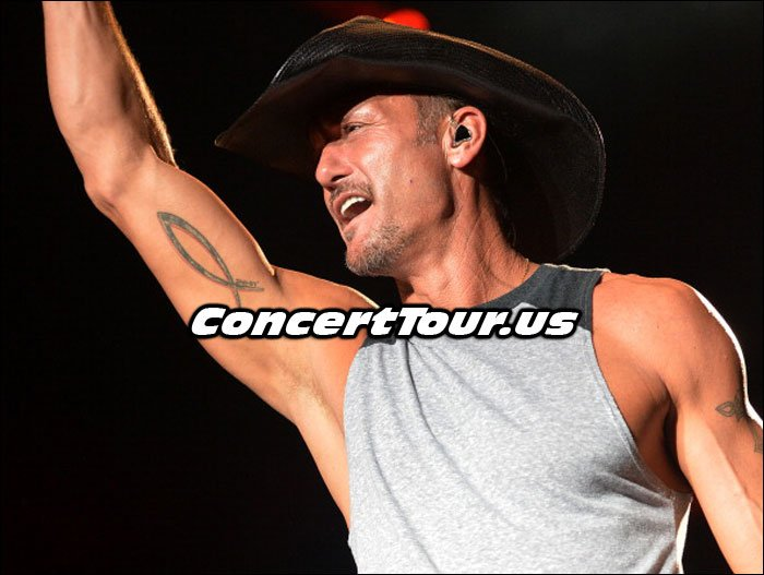 Tim McGraw Readies For Shotgun Rider Tour!