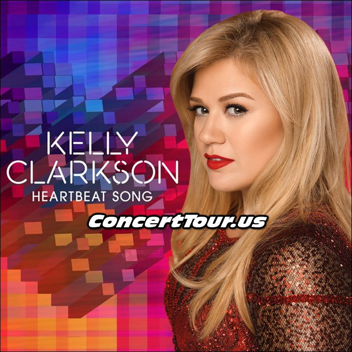 Kelly Clarkson, New Song 'Heartbeat Song' Going Strong!