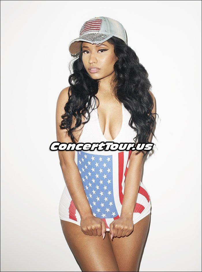 Nicki Minaj Prepares For Her 2015 Pinkprint Concert Tour!