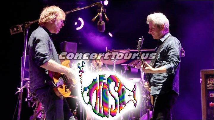 PHISH is on Tour and Hopefully Performing at a Venue near You!