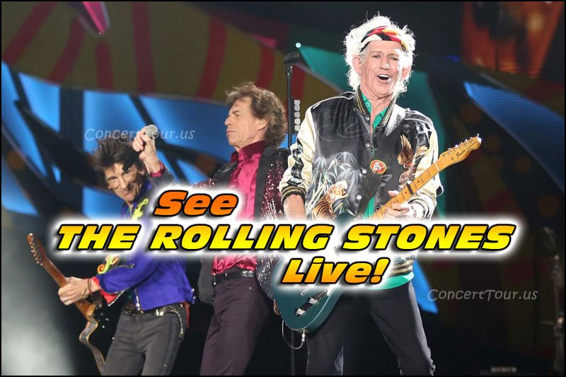 Don't miss your chance to see The Rolling Stones live in concert!