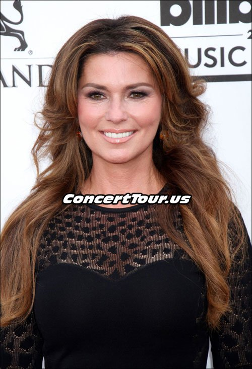 Shania Twain at the Billboard Music Award Show