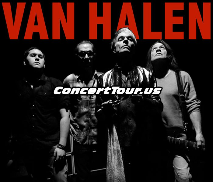 Van Halen with David Lee Roth and their Present Line Up
