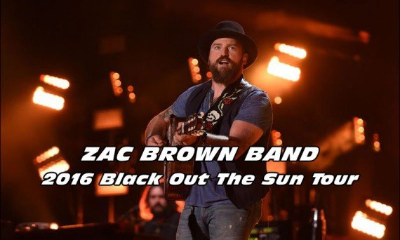 Zac Brown Band will be on tour this spring and summer! Check out there 'Black Out The Sun Tour' and see them perform live!