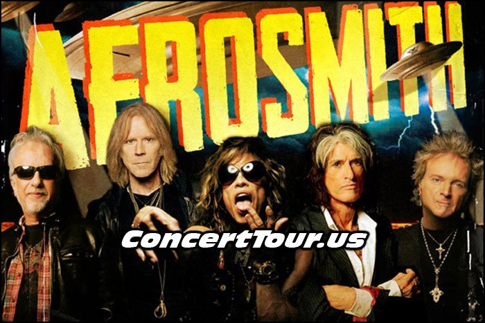 Aerosmith Releases Their Blue Army Tour Details!