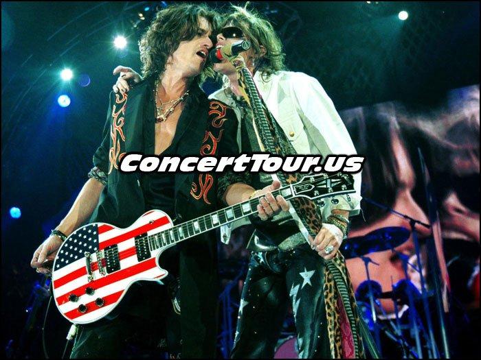 Aerosmith Live Onstage!