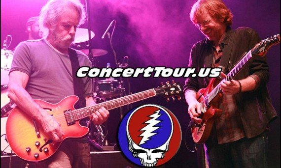 Grateful Dead 'Fare Thee Well Tour' Adds Dates For California!