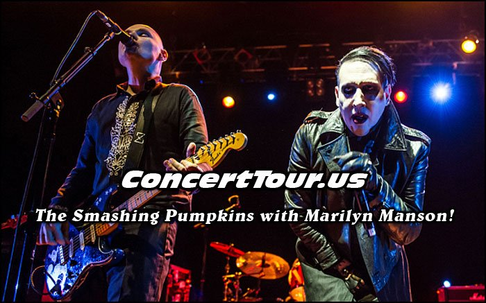 Smashing Pumpkins Plan 2015 Tour Dates with Marilyn Manson!