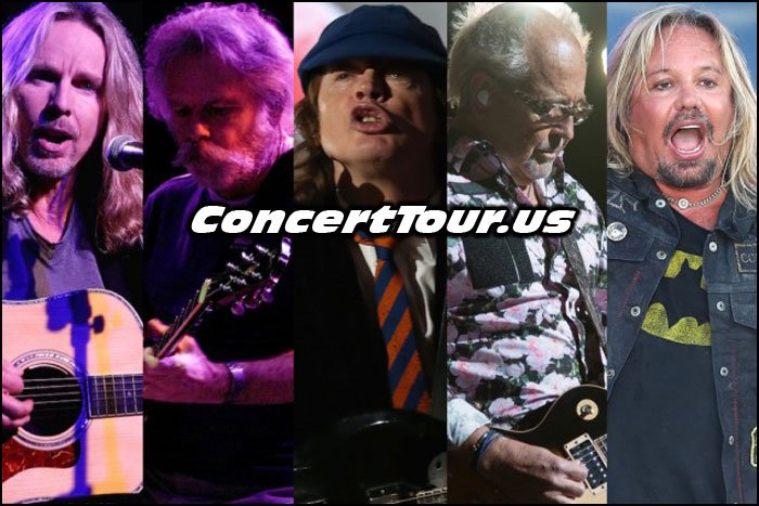 With So Many Great Classic Rock Bands On Tour This Summer, It's So Hard To Choose!