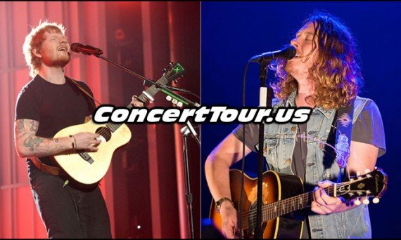 Both Ed Sheeran and Ben Kweller Hit The Stage in Salt Lake City To Duet 'Stand By Me'