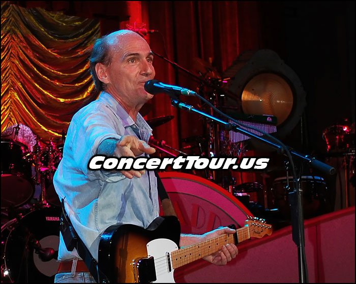 Don't Miss Your Chance To See JAMES TAYLOR Live In Concert!!