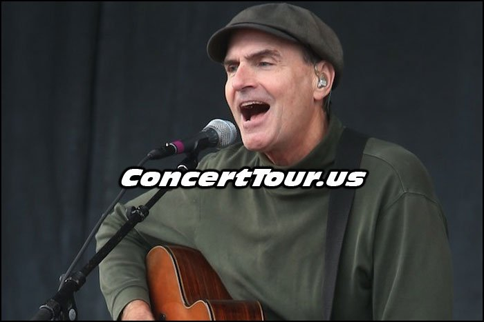 James Taylor Has Announced His Tour Plans For This Year!