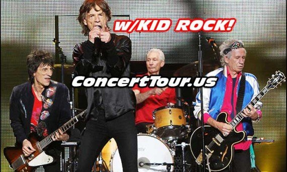 Kid Rock Will Be In Concert With The Rolling Stones On May 30th In Columbus Ohio!!