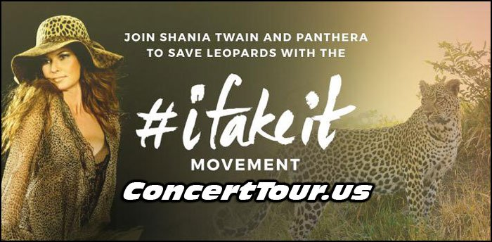 Shania Twain 'Fakes It' To Help Preserve Leopard Population From Extinction! She's Awesome!