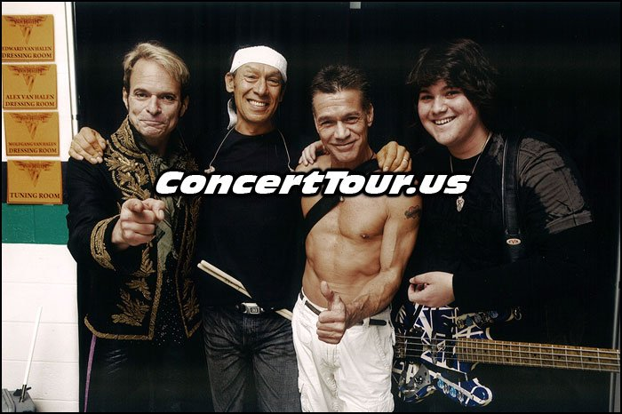 VAN HALEN With Their Present Lineup. Check them out live in concert this year!