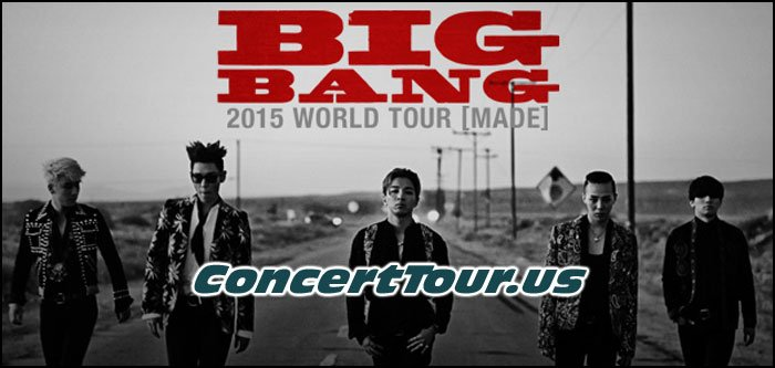BIGBANG Plots Out Their 2015 'MADE' World Tour