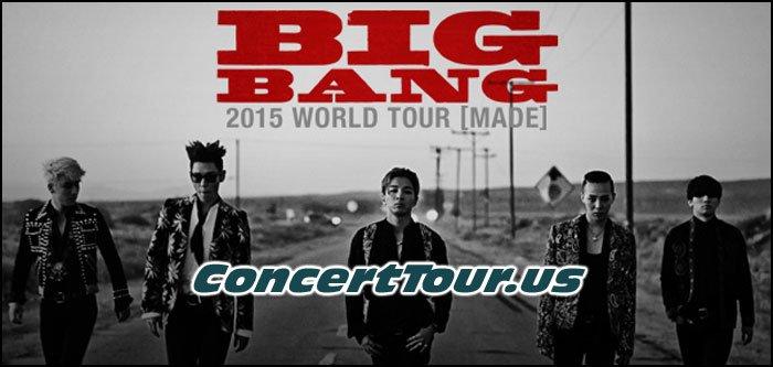 BIGBANG Plots Out Their 2015 'MADE' World Tour
