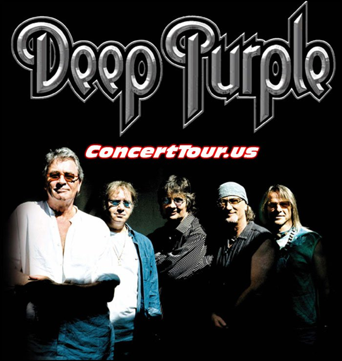 Deep Purple will be on tour through out the end of the year!