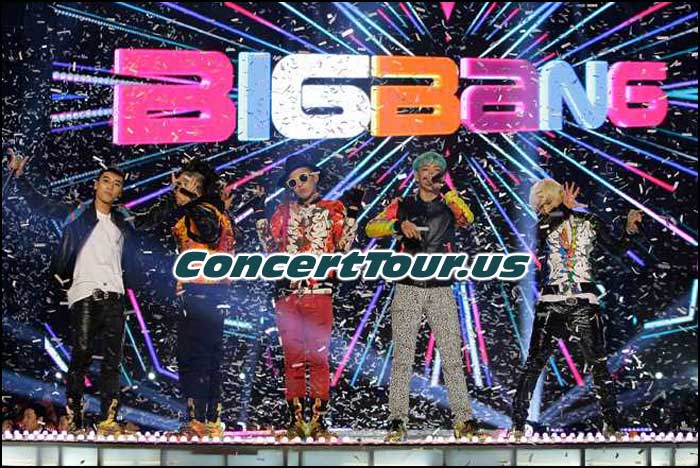 BIGBANG Will Be Touring Around The World For The Rest Of The 2015 year!