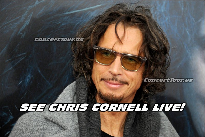 Chris Cornell is going on tour this 2016 summer. Better get your tickets now!