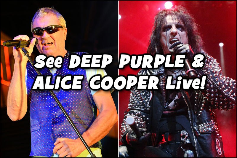 DEEP PURPLE will be on tour with ALICE COOPER all summer long!
