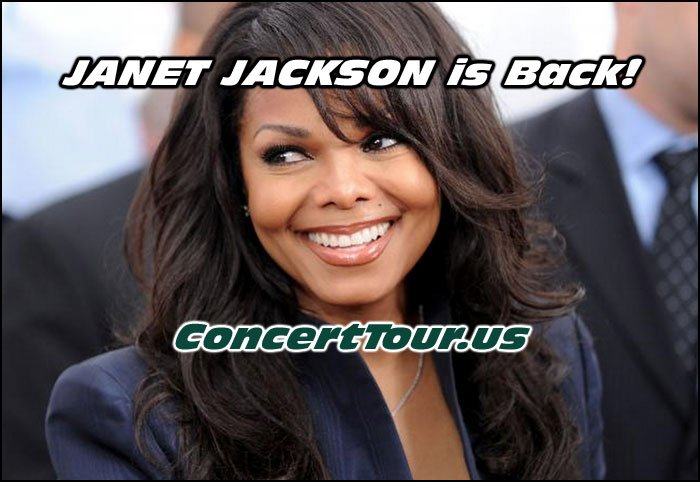 JANET JACKSON is Back With New Music & A World Concert Tour!