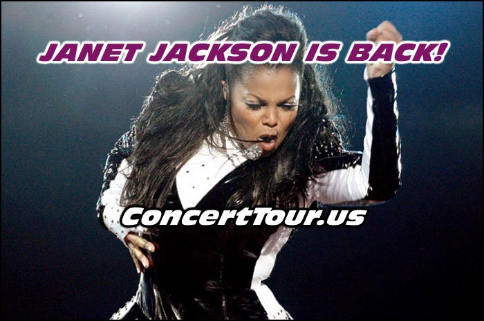 Janet Jackson is back with New Music and will continue her Unbreakable Tour well into 2017