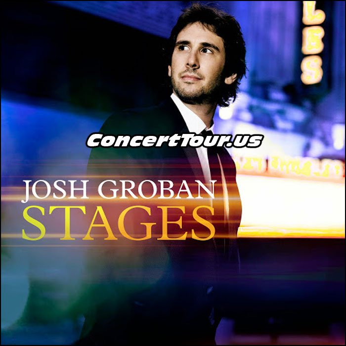 Josh Groban is Ready To Take His New Album STAGES On Tour This Year!
