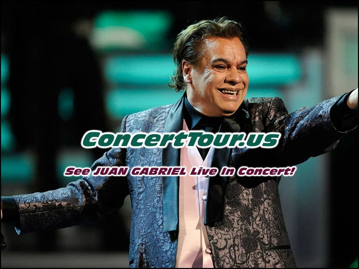 Fans are so excited to see Juan Gabriel live in concert. It's been way too long!